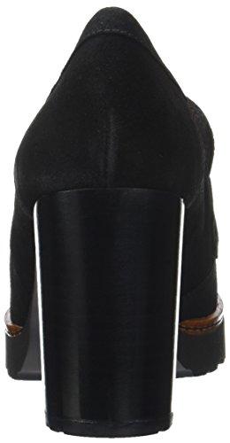 Gadea Damen Silk Pumps Schwarz (Silk Negro)