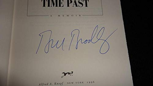 Bill Bradley Signed 1996 Time Present Time Past 1st Ed Hardback Book Knicks - JSA Certified - MLB Autographed Miscellaneous Items ()