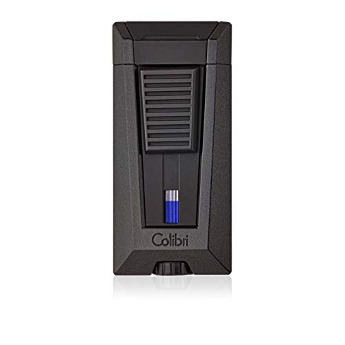 Colibri Stealth 3 Triple Jet Metallic Black Flame Lighter