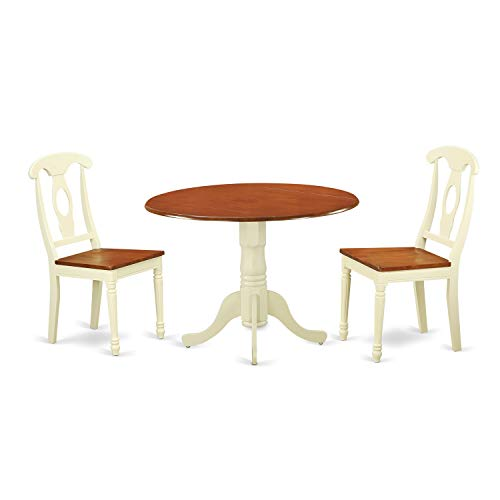 - 3-piece Dining Set with Dining Table and 2 Dining Chairs Dining Chairs Table Antique And Set Room Mahogany Oak Svitlife
