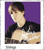 Justin Bieber Licensed Accessories STRINGS with Guitar - ...