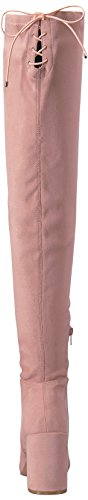 Chinese Boot Laundry Pink Suede Women's Winter Krush wwgaxZq8