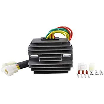 ANPART Voltage Regulator Rectifier Fit For 2002 Arctic Cat 375 2001-2008 Arctic Cat 400 2000-2009 Arctic Cat 500