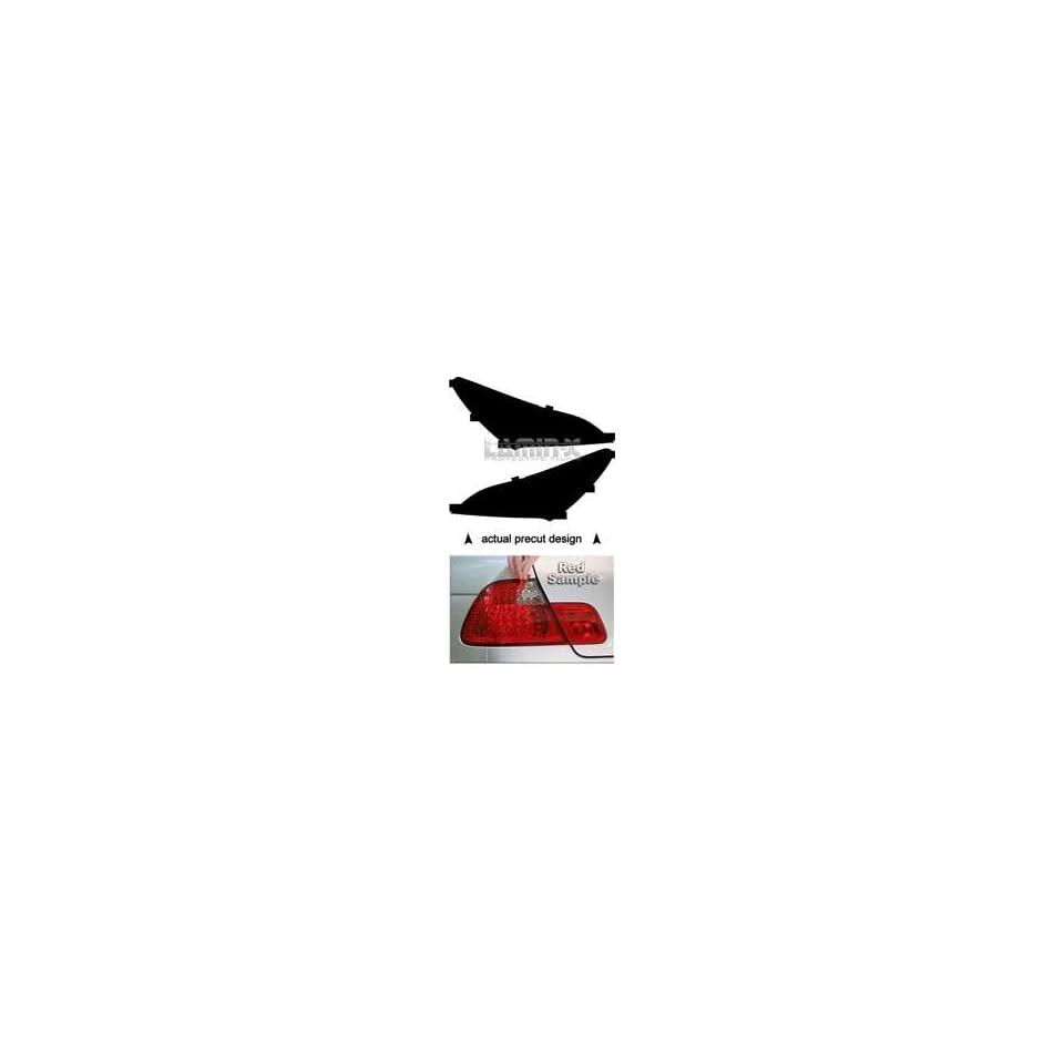 Hyundai Genesis Coupe (09  ) Tail Light Vinyl Film Covers ( RED ) by Lamin x