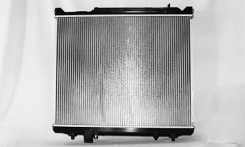 New Replacement Aluminum Radiator for 2005-2006 Suzuki XL-7 2.7L V6 Fits CU2933