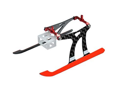 Microheli Aluminum/Carbon Fiber Landing Gear (RED) - Blade Nano CPX/S/S2