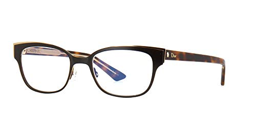 35aab0fd5ed Image Unavailable. Image not available for. Color  NEW Christian Dior  MONTAIGNE N12 GAS HAVANA CRYSTAL EYEGLASSES ...