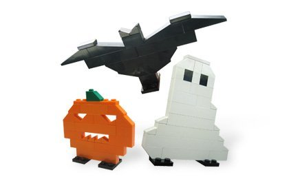 LEGO Seasonal Halloween Mini Figure Set #40020 Ghost, Pumpkin Bat Bagged