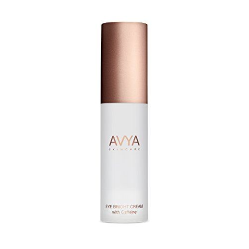 AVYA Skincare Eye Bright Cream (with Caffeine) 15ml/0.5oz - Instant lift, brightness, Reduction of fine lines, long term reduction of puffiness and dark circles formulated for all melanin levels.