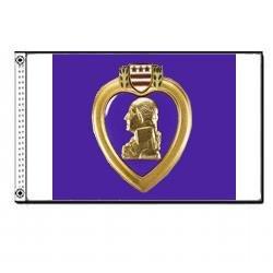 Purple Heart Flag (3 ft. x 5 ft.)
