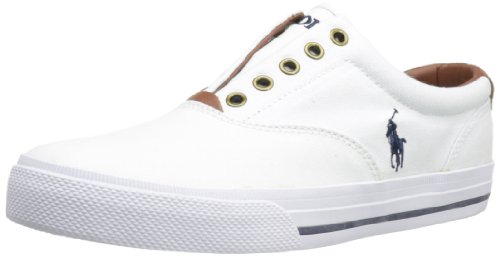 Polo Ralph Lauren Men's Vito, White, 13 D US