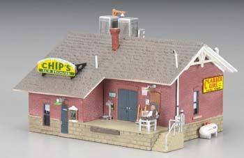 Woodland Scenics N B/U Chip's Ice House ()