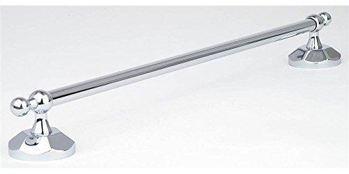 Esaro 18 in. Towel Bar in Polished Chrome