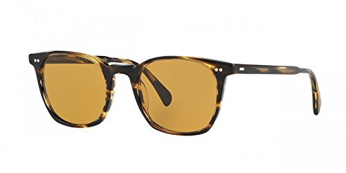 Oliver Peoples L.A. Coen Sun (Cocobolo, Champagne - Peoples Buy Online Oliver