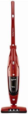 Nilfisk Handy 2 in 1 Sin bolsa Rojo - Aspiradora escoba (Sin bolsa ...