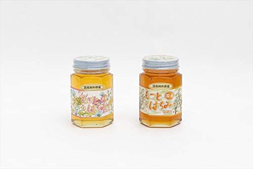 【国産純粋ハチミツ・養蜂園直送】百花蜂蜜 山蜂蜜 各180g