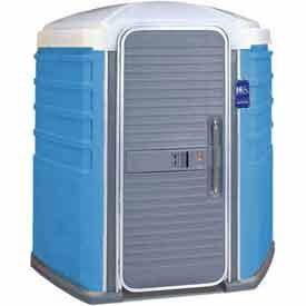 PolyJohn SA1-1001, We'll Care ADA Compliant Portable Restroom, Blue