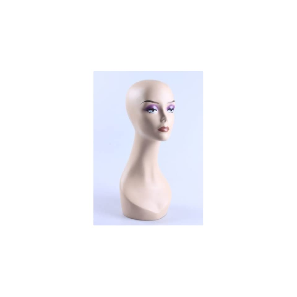 New Female Mannequin Head Display Bust For Jewelry, Wigs and Hats ZLXTT17