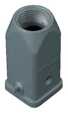 GWCONNECT BY MOLEX 7810.6556.0 Heavy Duty Connector Top Entry Aluminium Body Hood 1 Lever 10B