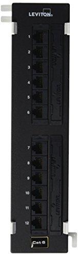 - Leviton 69586-U89 Extreme Cat 6+ 110-Style Patch Block, 12-Port