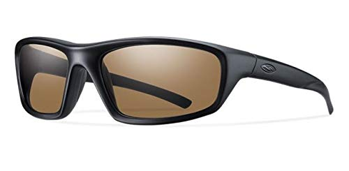 Smith Optics Elite Director Tactical Sunglass with Polarized Brown Lens, ()