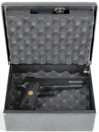 Fort Knox Pistol Box Handgun Safe