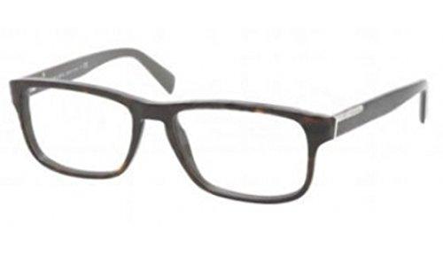 PRADA Eyeglasses VPR 07P Dark Havana KA51O1 PR07PV
