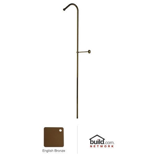Rohl U.5382EB Perrin and Rowe Rigid Hook Shower Riser, 63'', English Bronze