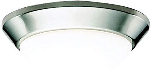 Kichler Drapes (Kichler 8880NIFL Energy Efficient Ceiling Lights, 1, Brushed Nickel)