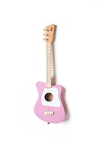 Loog Mini Acoustic Guitar for Children and Beginners, (Pink) 31e5IE0fYHL