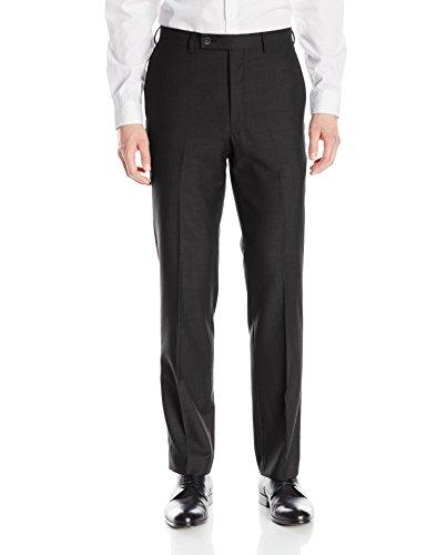 Calvin Klein Men's X-Fit Slim Stretch Suit Separate (Blazer and Pant), Charcoal, 29W x 29L