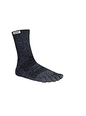 Injinji - Calcetines Trail Midweight Crew Granite, Gris: Amazon.es: Deportes y aire libre