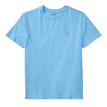 Ralph Lauren - Camiseta Cuello Redondo para niño 6-14 años - Azul ...