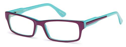 Girls Prescription Eyeglasses Frames Size 52-16-140-30 in Two Toned Purple - Eyeglasses Online Kids