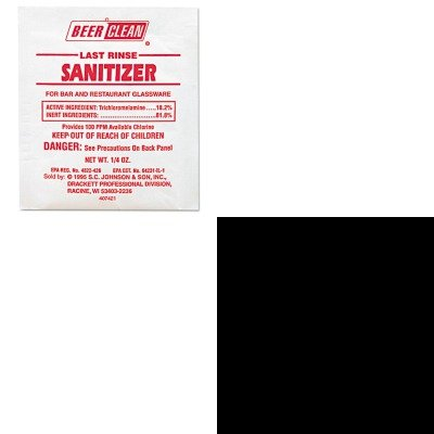 KITDRA90223DRA91206EA - Value Kit - Mr. Muscle Oven And Grill Cleaner (DRA91206EA) and Diversey Beer Clean Last Rinse Glass Sanitizer (DRA90223) ()