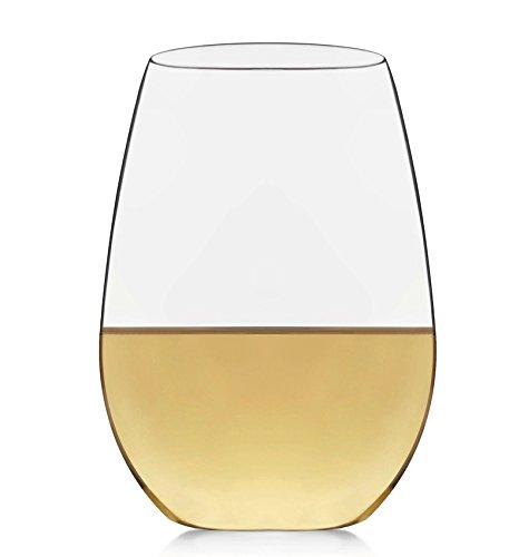 Libbey Signature Kentfield 4-piece Stemless White Wine Glass (Signature White Wine)