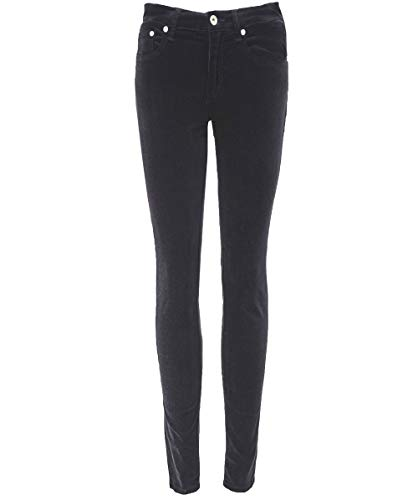Velluto And Rag Aumento Jeans High Da Bone Skinny Nero Donna 7g74vq1C