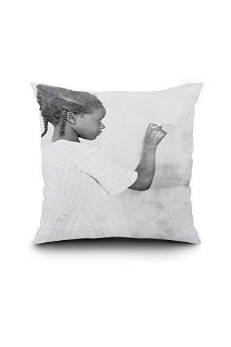 (Lantern Press Fred Clarke, Pittsburgh Pirates, Baseball Photo (18x18 Spun Polyester Pillow, Square))