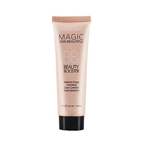 shamrock58 HengFang Liquid Foundation Concealer Blemish Balm BB Face Makeup Light Dark Makeup Tool (B)