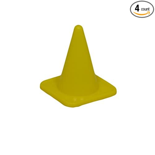 Fitness Health Pro Traffic Marker coneSports Team Football Rugby Marking cone 4 Inch Yellow