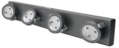 RiteLite LPL704 Battery-Operated 12-LED Under-Cabinet Track Light New Free Sh