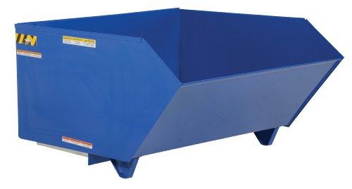 Vestil H-150-LD Low Profile Light Duty 90 Degree Self-Dumping Hopper, Steel, 49