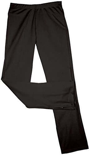 In-Stock Dbl Knit Warm-Up Pant Blk S
