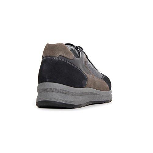 43 Sneakers Giardini Eu Blue da uomo Blue Nero basse 01xBdBw