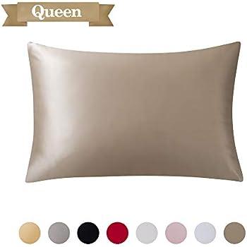 Amazon.com: Pure Light Blue Silk Pillowcase – 100% Organic
