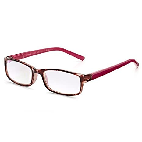 48bdef4417d Read Optics Reading Glasses  Womens +1.00 Stylish Spectacles with Difuzer  Anti-Glare