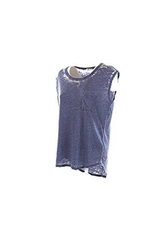 T-shirt Donna Ltb S Blu 80030.60246 Primavera Estate 2016