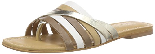 Liebeskind Berlin Lf182560 Goat, Infradito Donna Multicolore (Multi Natural)