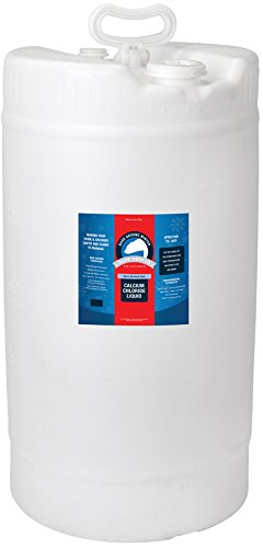 Bare Ground Bolt BGB-15DC Fast-Acting CaCl2 Ice Melt Liquid for All Surfaces, 15 Gallons