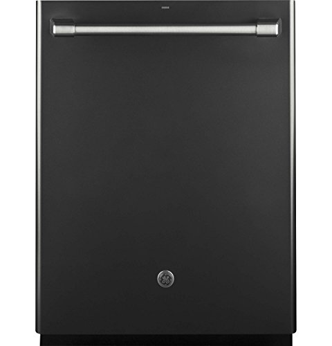 "GE Caf Series 24"" Built-In Dishwasher Black slate CDT835SMJDS"